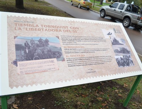 """Cartelería Histórica patrimonial """"Historias de Redento"""" Tornquist  Pcia de Buenos Aires."""